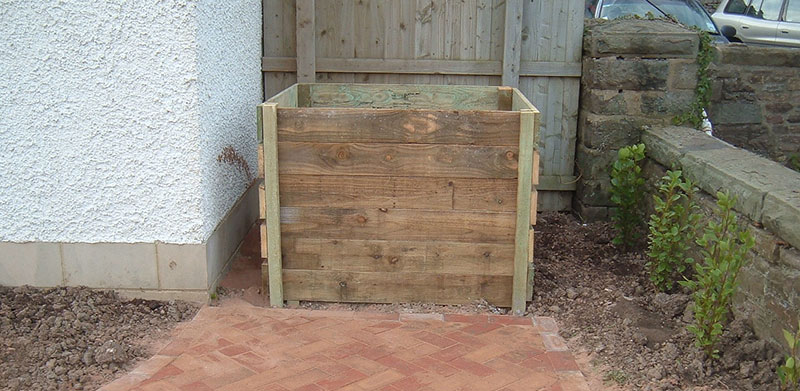 composter installation