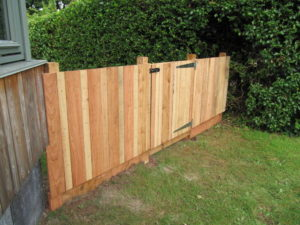 Larch Fence, Coombe Dingle