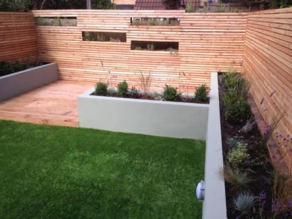Screening with Raised Beds, Southville