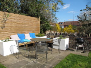 Composite Decking, Raised Beds and Screen, Henleaze