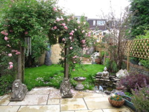 Garden Design with Pond, Easton
