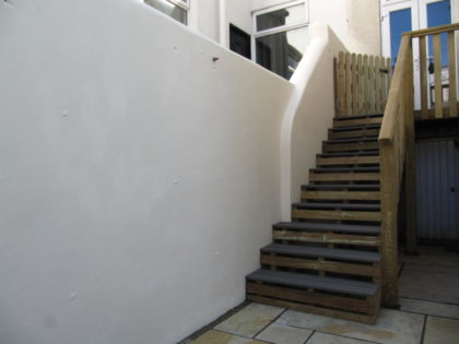 Composite Decked Steps, Southville