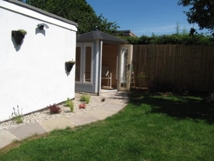 Summer House Design with Planting, Westbury-On-Trym
