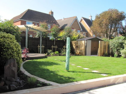 Large Garden Design, Emerson's Green