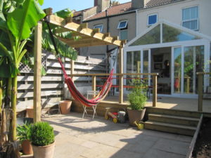 Timber Decking and Pergola, Brislington