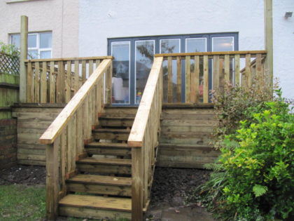 Decking with Balustrade, St. Andrews
