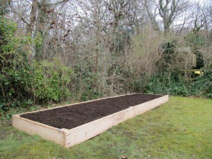 Raised Vegetable Bed, Leigh Woods