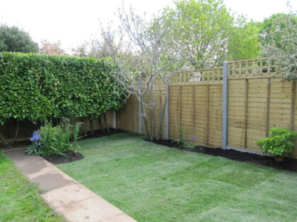 Lawn with Borders, Westbury on Trym