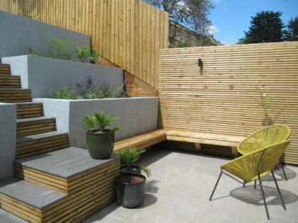 Sloped Garden Design, St. Andrews